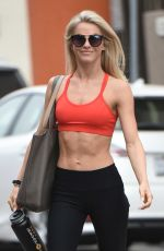 JULIANNE HOUGH in Tightd Leaves a Gym in Los Angeles 07/01/2017