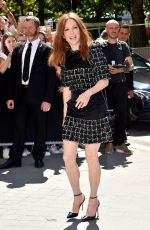 JULIANNE MOORE at Chanel Fashion Show in Paris 07/04/2017