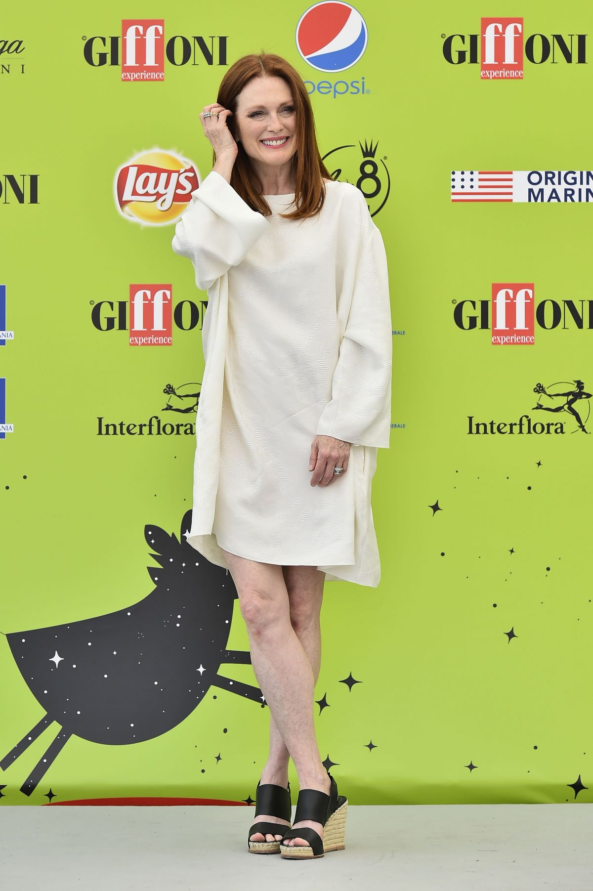 JULIANNE MOORE at Giffoni Film Festival 2017 07/16/2017
