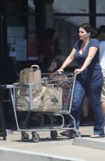 JULIETTE BINOCHE Out for Grocery Shopping in Malibu 07/04/2017