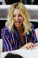 KALEY CUOCO at The Big Bang Theory Panel at Comic-con International in San Diego 07/21/2017