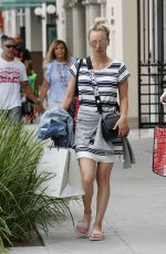 KALEY CUOCO Shopping at Geary