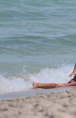 KARA DEL TORO in Bikinis on the Set of a Photoshoot at a Beach in Miami 07/24/2017