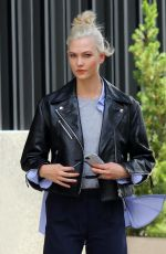 KARLIE KLOSS on the Set of a Photoshoot in New York 07/23/2017