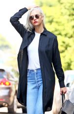 KARLIE KLOSS Out and About in New York 07/19/2017