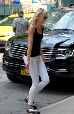 KAROLINA KURKOVA Out and About in New York 07/20/2017