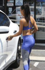 KARREUCHE TRAN in Tights Out Shopping in West Hollywood 07/16/2017