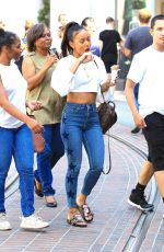 KARREUCHE TRAN Shopping at The Grove in West Hollywood 07/16/2017