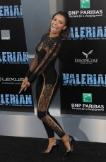 KAT GRAHAM at Valerian and the City of a Thousand Planet Premiere in Hollywood 07/17/2017