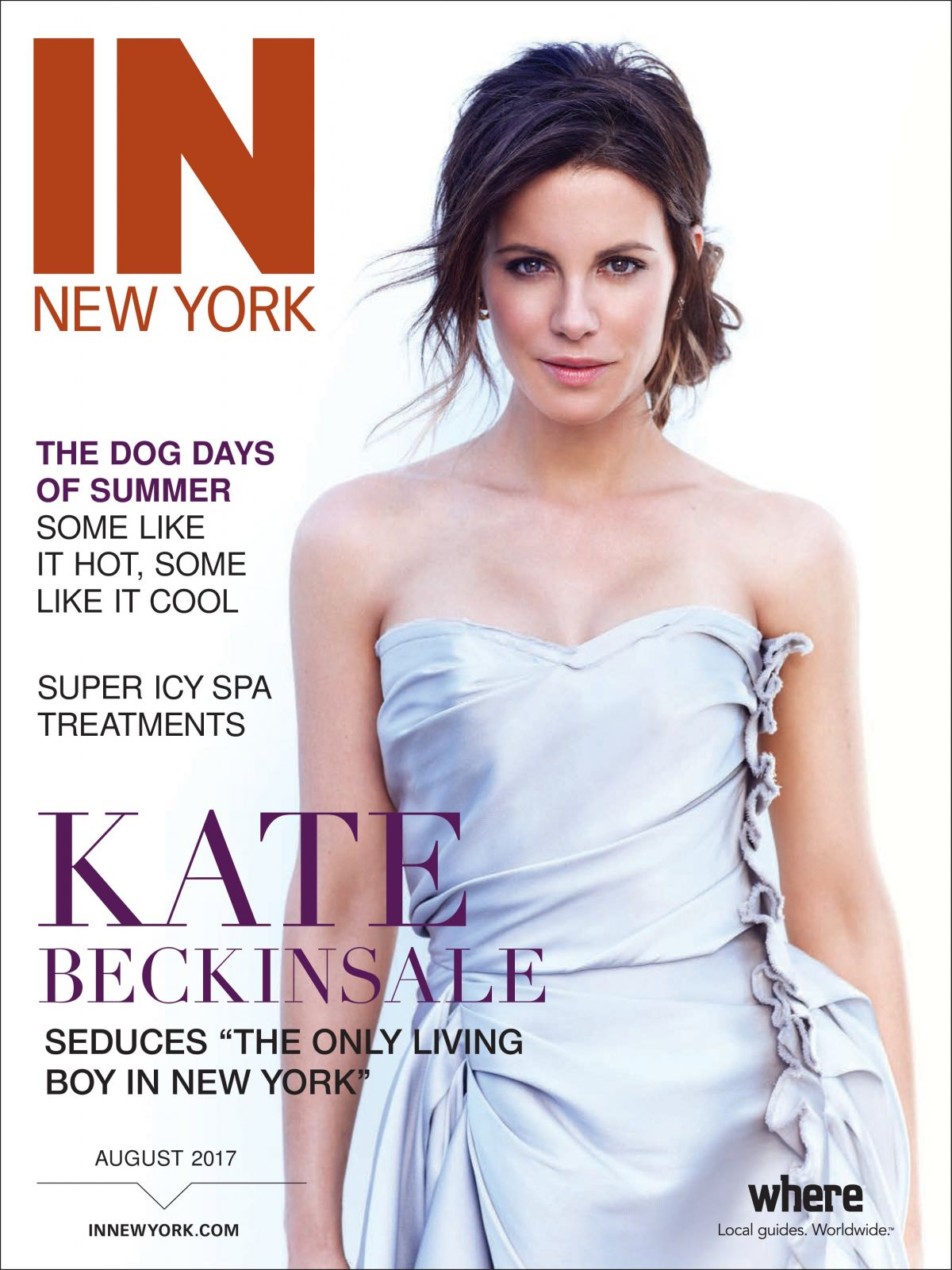 KATE BECKINSALE in In New York Magazine, August 2017
