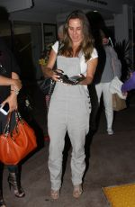 KATE DEL CASTILLO at Shu Restaurant in Los Angeles 06/17/2017
