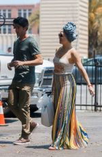 KATE HUDSON Out and About in Los Angeles 07/15/2017