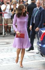KATE MIDDLETON Arrives at Maritime Museum in Hamburg 07/21/2017