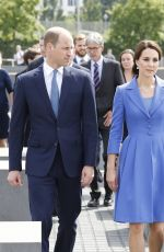KATE MIDDLETON at Holocaust Memorial in Berlin 07/19/2017