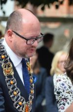 KATE MIDDLETON at Long Market in Gdansk 07/18/2017