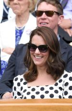 KATE MIDDLETON at Wimbledon Championships in London 07/03/2017