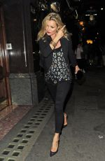 KATE MOSS Arrives at Mr Chows Restaurant in London 07/17/2017