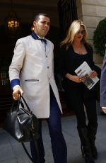 KATE MOSS Leaves Her Hotel in Paris 07/05/2017
