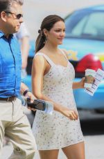 KATHARINE MCPHEE on the Set of The Lost Wife of Roberts Durst 07/11/2017