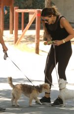 KATHARINE MCPHEE Out with Her Dog in Los Angeles 07/22/2017