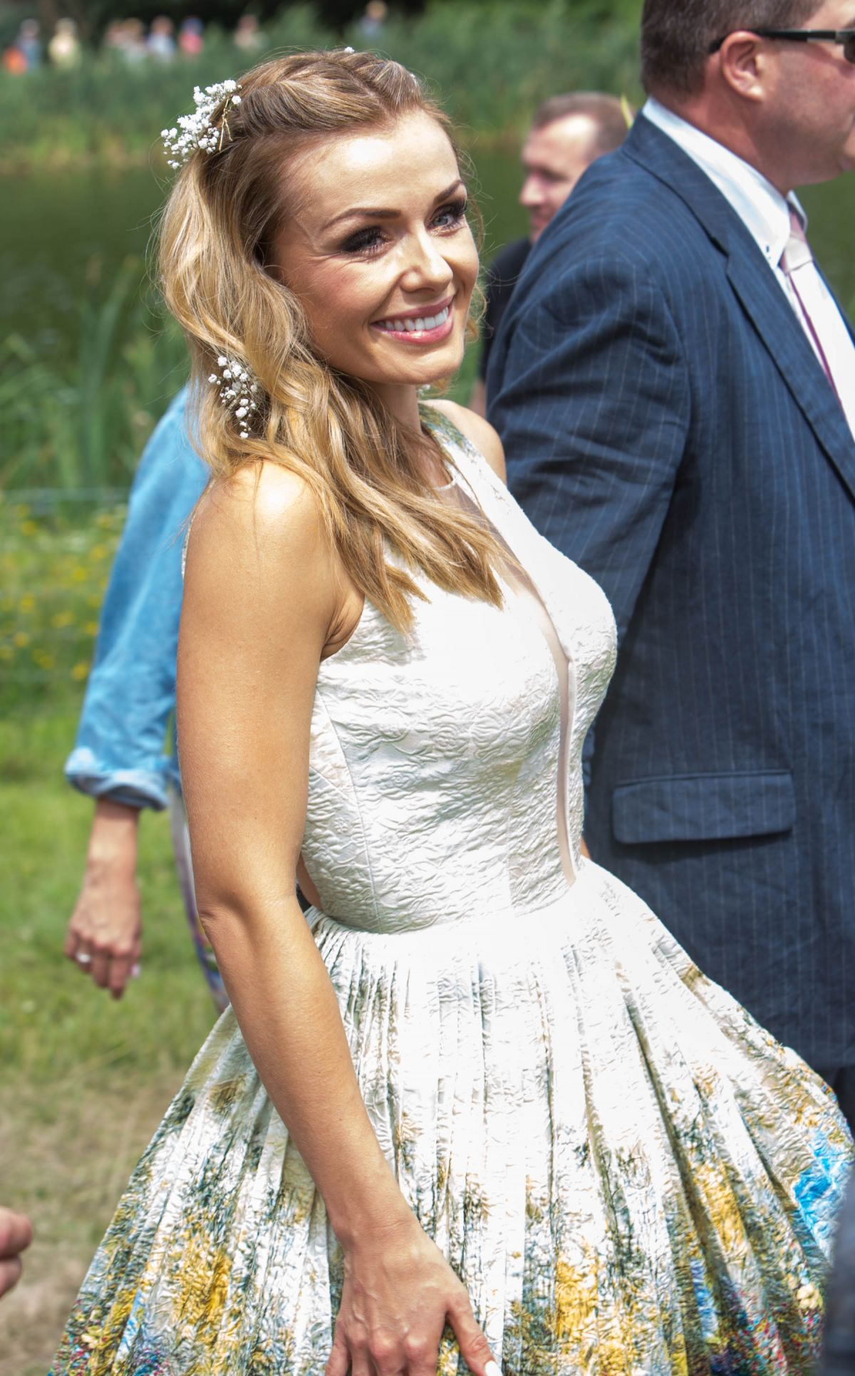 KATHERINE JENKINS at Latitude Festival in Suffolk 07/16/2017