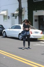 KATHERINE SCHWARZENEGGER Out and About in Beverly Hills 07/10/2017