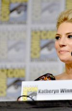 KATHERYN WINNICK at Vikings Panel at Comic-con in San Diego 07/21/2017