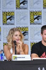 KATIE CASSIDY at Arrow Panel at Comic-con in San Diego 07/22/2017