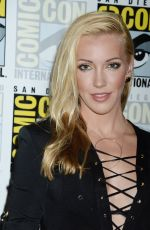 KATIE CASSIDY at Arrow Press Line at Comic-con in San Diego 07/22/2017