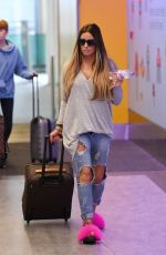 KATIE PRICE at Gatwick Airport in London 07/22/2017