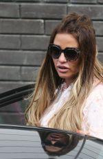 KATIE PRICE Leaves ITV Studios in London 07/20/2017