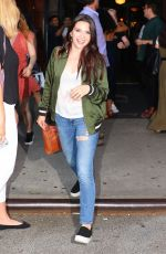 KATIE STEVENS Leaves Bowery Hotel in New York 07/18/2017