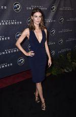 KATJA HERBERS at Manhunt: Unabomber TV Show Premiere in New York 07/19/2017