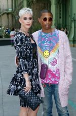 KATY PERRY and Pharrell Williams at Chanel Fashion Show in Paris 07/04/2017
