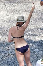 KATY PERRY in Bikini on Vacation in Italy 07/13/2017