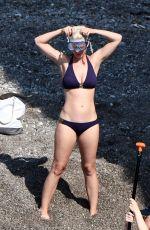 KATY PERRY in Bikini Paddleboarding in Italy 07/13/2017