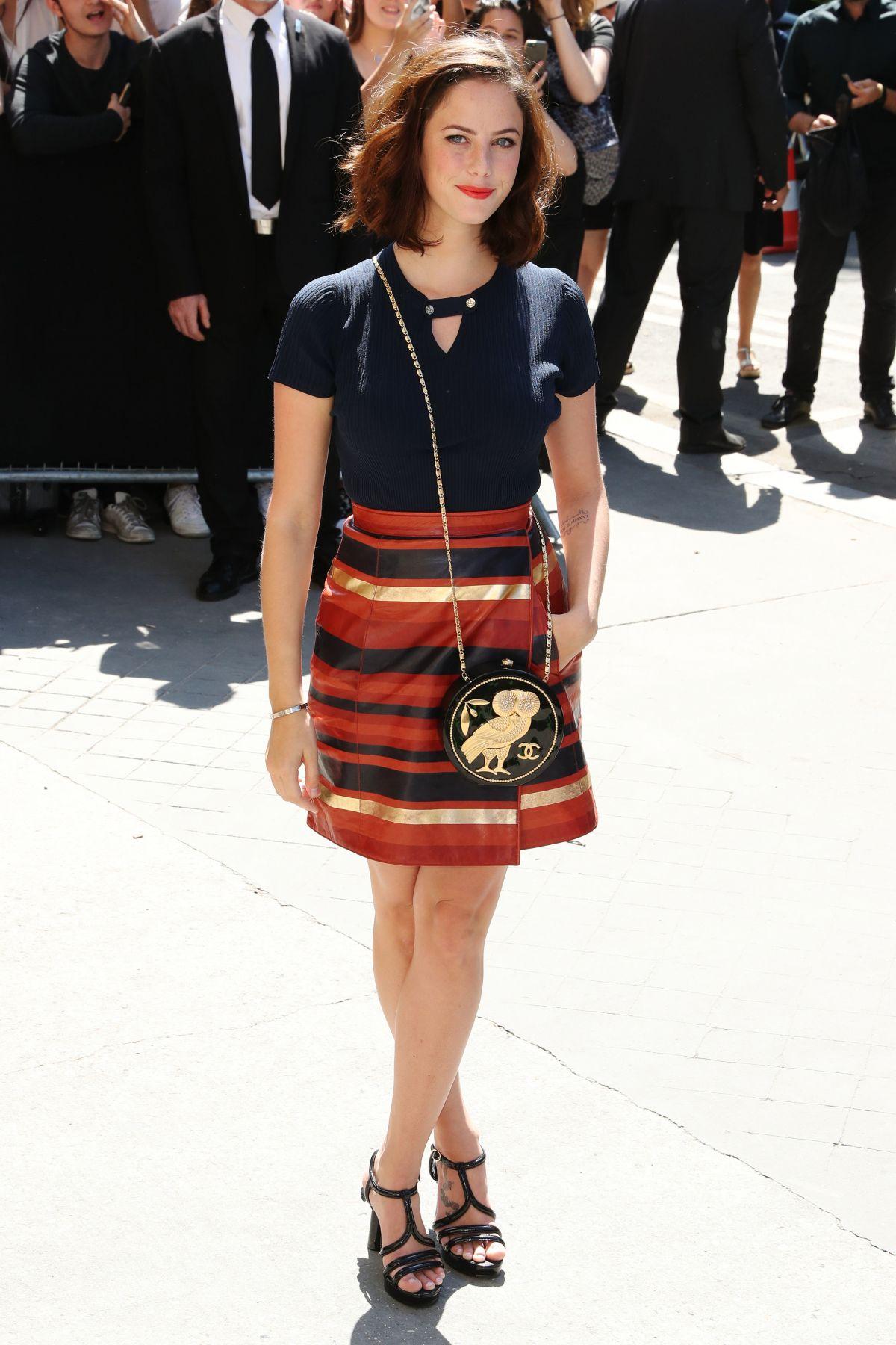KAYA SCODELARIO At Chanel Fashion Show At Haute Couture