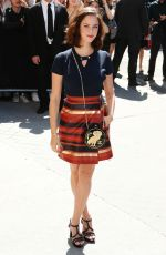 KAYA SCODELARIO at Chanel Fashion Show at Haute Couture Paris Fashion Week 07/04/2017