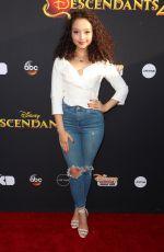 KAYLA MAISONET at Descendants 2 Premiere in Los Angeles 07/11/2017