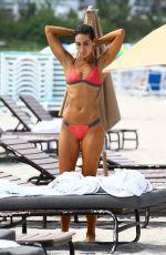 KAYLEE RICCIARDI in Bikini at a Beach in Miami 07/19/2017