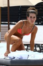 KAYLEE RICCIARDI in Bikini at a Beach in Miami 07/19/2017