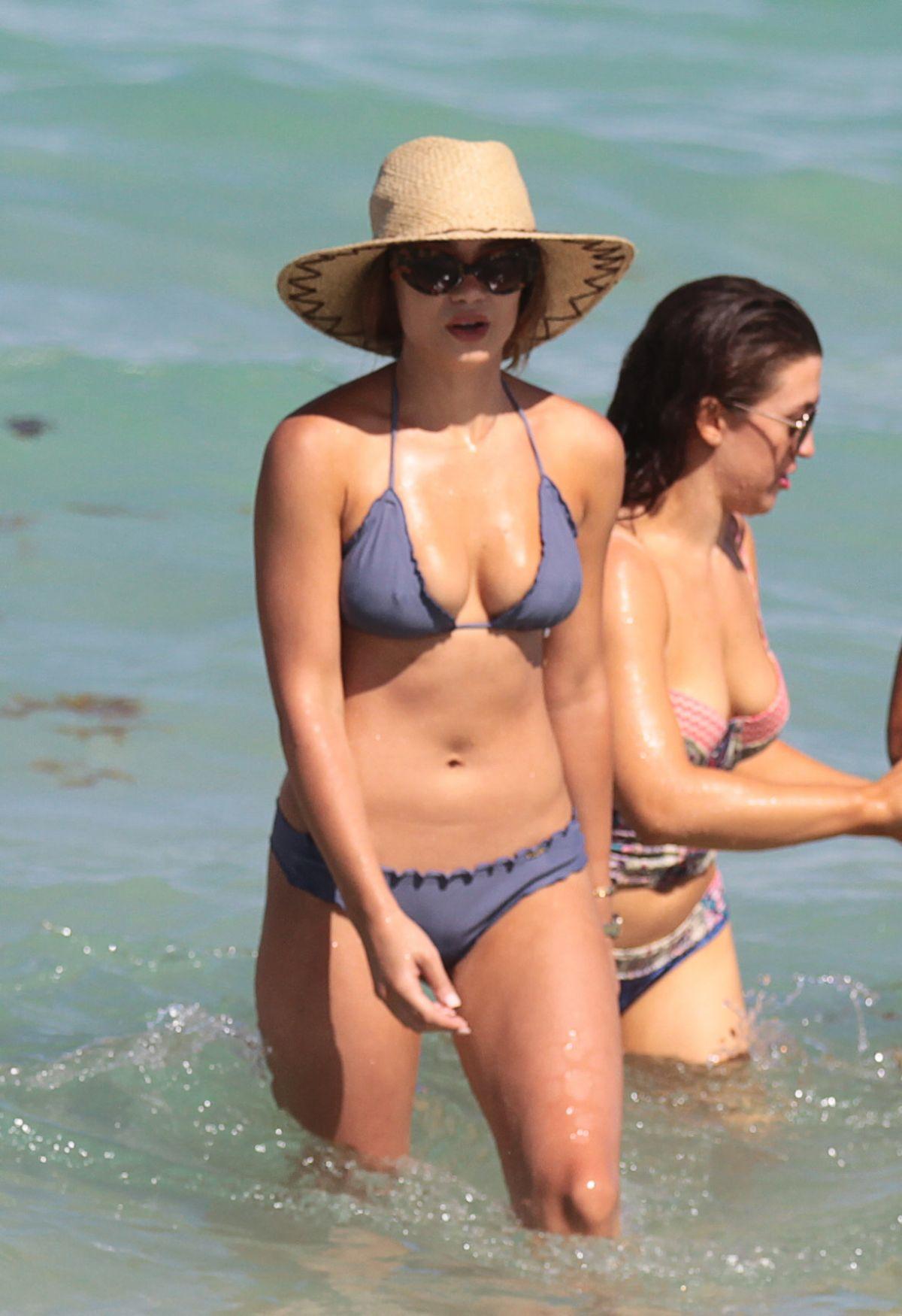 KELEIGH SPERRY in Bikini on the Beach in Miami 07/09/2017