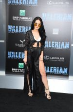 KELLI BERGLUND at Valerian and the City of a Thousand Planet Premiere in Hollywood 07/17/2017