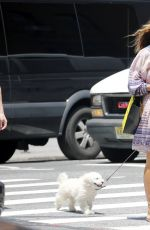 KELLY BENSIMON Out with Her Boyfriend in New York 06/30/2017
