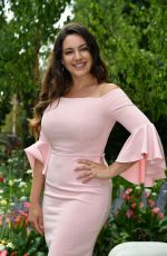 KELLY BROOK at Hampton Court Flower Show in London 07/03/2017