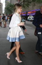 KELSEA BALLERINI Leaves NBC Studios in New York 07/25/2017