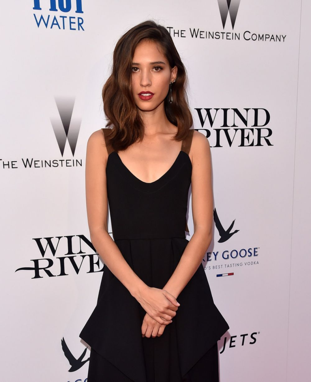 KELSEY ASBILLE CHOW at Wind River Premiere in Los Angeles 07/26/2017