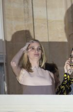 KENDALL JENNER and DOUTZEN KROES at Miu Miu Cruise Collection Party in Paris 07/02/2017
