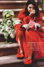 KENDALL JENNER and Muppets for Love Magazine #18, July 2017