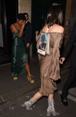 KENDALL JENNER at Kinu Japanese Restaurant in Paris 07/04/2017